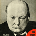"Guerre 1939-1945. Winston Churchill, en couverture de l'""Illustrated Magazine"", 25 mai 1940. © crédits photos TopFoto / Roger-Viollet"